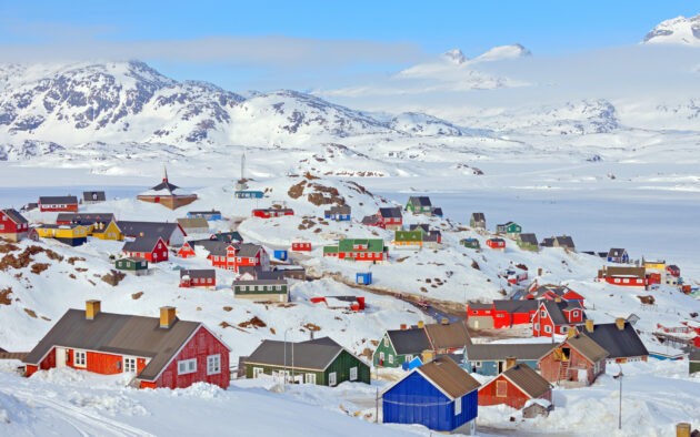 Grönland Dorf
