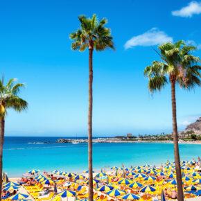 Frühbucher: 8 Tage Gran Canaria im 4* All Inclusive Hotel mit Flug, Transfer & Zug nur 299€