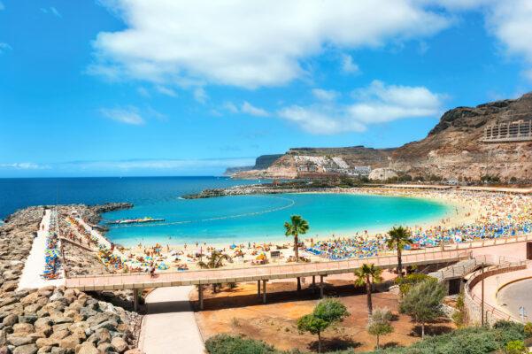 Grand Canaria Strand Steg