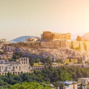 Wochenende in Athen: 3 Tage im zentralen 4* Hotel mit Frühstück & Flug nur 85€