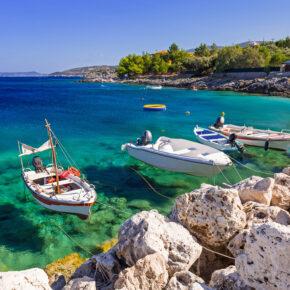 Traumurlaub: 8 Tage auf Zakynthos mit ausgezeichnetem 3* Hotel & Direktflug nur 213€
