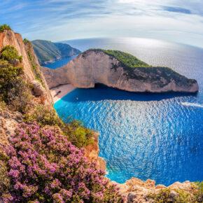Griechenland Frühbucher: 8 Tage Zakynthos im TOP 4* Hotel mit All Inclusive, Flug & Transfer nur 322€