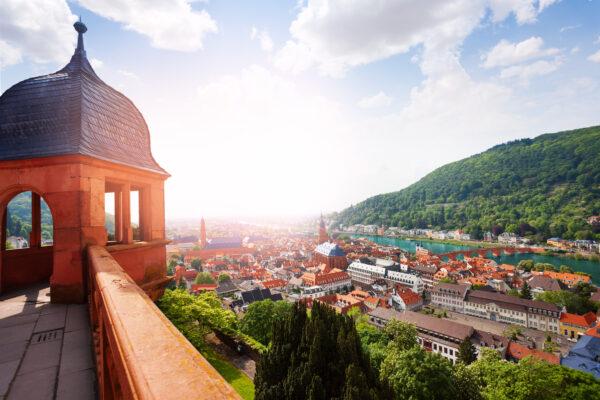 Heidelberg Turm Aussicht