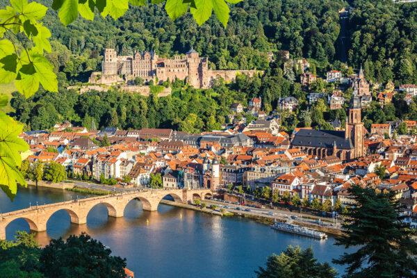 Heidelberg Brücke Fluss Stadt