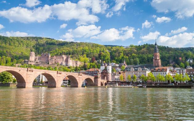Heidelberg Fluss Brücke
