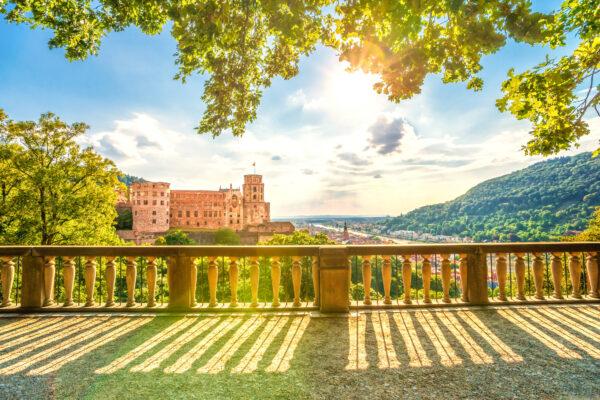 Heidelberg Schloss Balkon