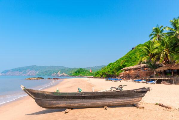 Indien Goa Boot