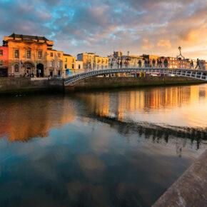 Dublin Städtetrip: 3 Tage übers Wochenende mit Unterkunft im Zentrum, Frühstück & Flug nur 89€