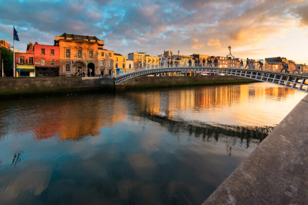 Irland Dublin Brücke