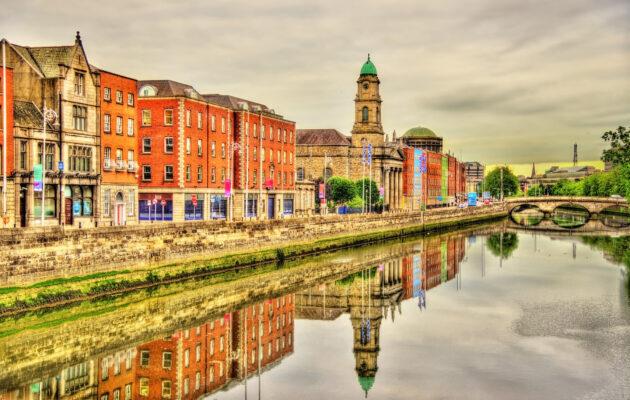 Irland Dublin Fluss