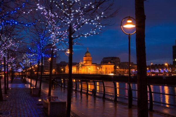 Irland Dublin Nacht