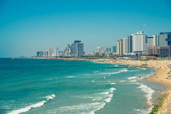 Israel Tel Aviv Meer
