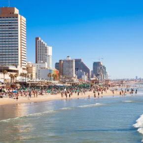 Tel Aviv über's Wochenende: 4 Tage in Israel mit Unterkunft in Strandnähe & Flug nur 142€