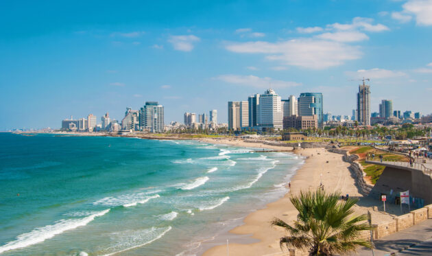 Israel Tel Aviv Strand Meer