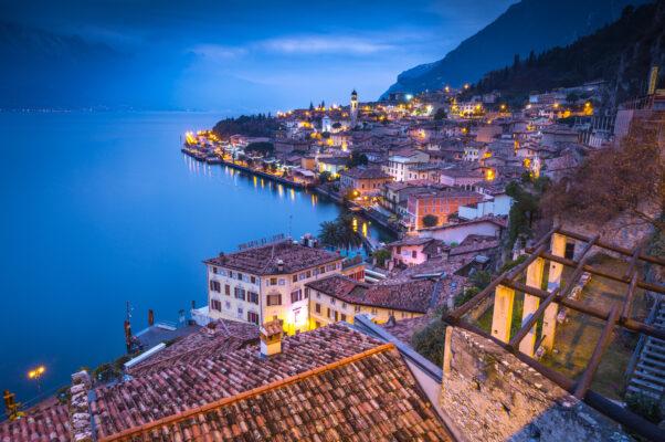 Italien Gardasee Ortschaft