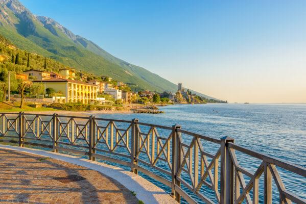 Italien Gardasee Weg