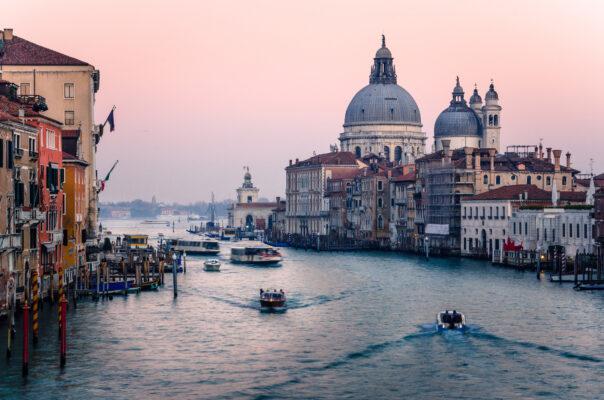 Italien Venedig Fluss