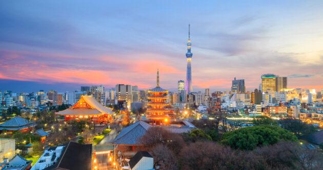Japan Tokio Aussicht