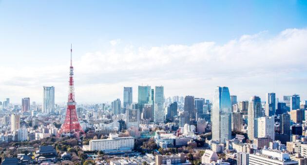 Japan Tokio Skyline