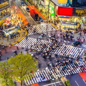 Japan Tokio Straße