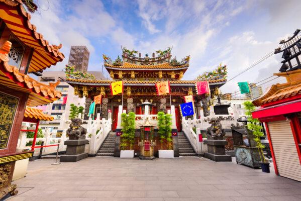 Japan Yokohama Tempel