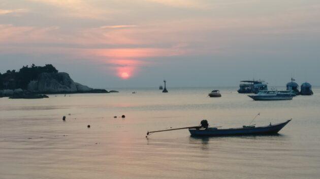 Koh Tao Sonnenuntergang