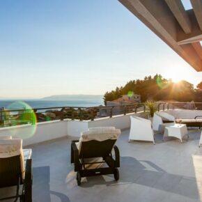 Kroatien Villa Terrasse