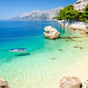 Kroatien: 8 Tage in eigener Ferienwohnung mit Meerblick & Pool nur 111€