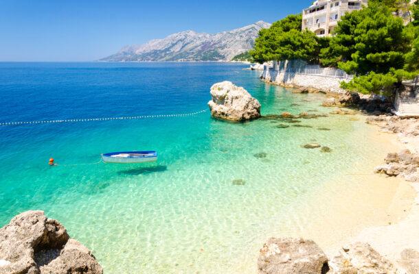 Kroatien Blaues Meer