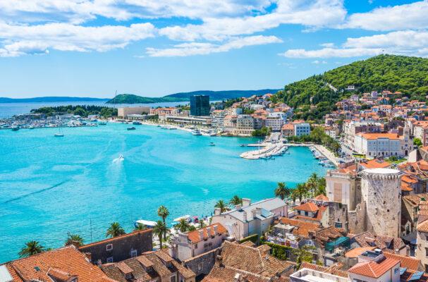 Kroatien Dalmatia Stadt