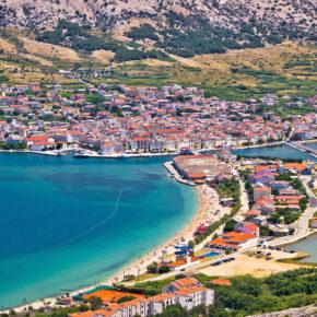 Kroatien: 8 Tage Pag mit Apartment & Flug nur 58€