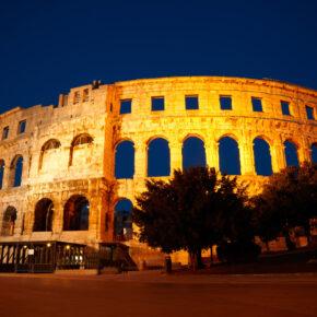 Kroatien Pula Amphitheater