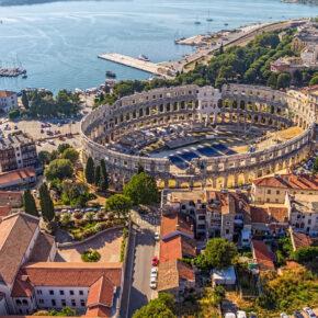 Pula Tipps: Sehenswürdigkeiten, Strände & Nachtleben an der kroatischen Adriaküste