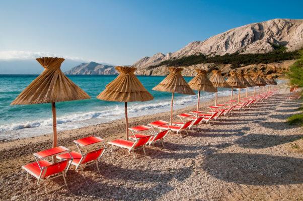 Kroatien Sonnenliegen