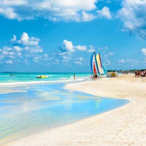 Kuba All Inclusive: 7 Tage Varadero mit 5* Hotel, Flug, Transfer & Zug nur 1048€