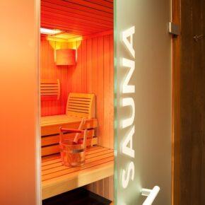 Le Colombier Hotel Sauna