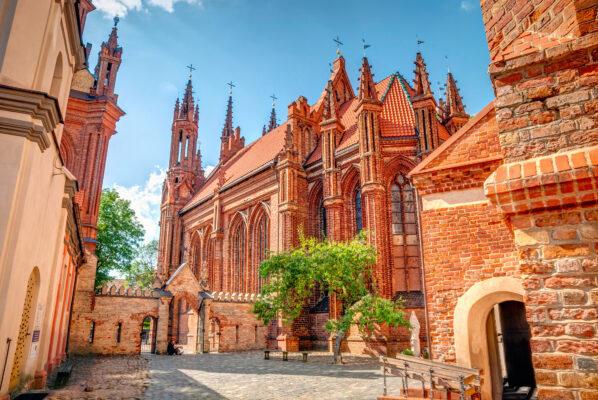 Litauen Vilnius Kirche