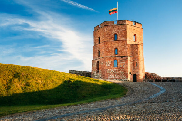 Litauen Vilnius Turm