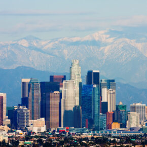 Kalifornien Los Angeles Skyline