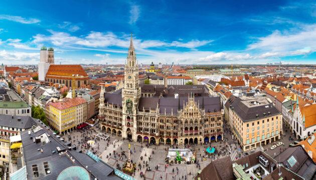 München Marienplatz Frauenkirche