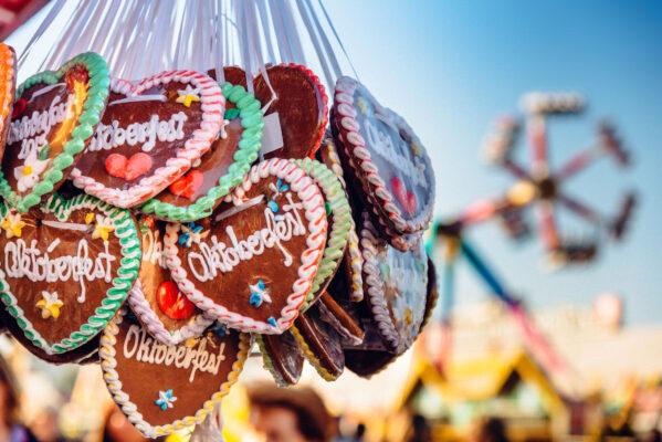 München Oktoberfest Lebkuchen