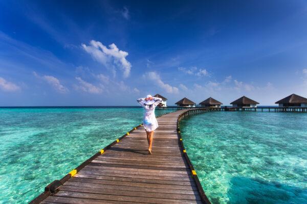 Malediven Frau