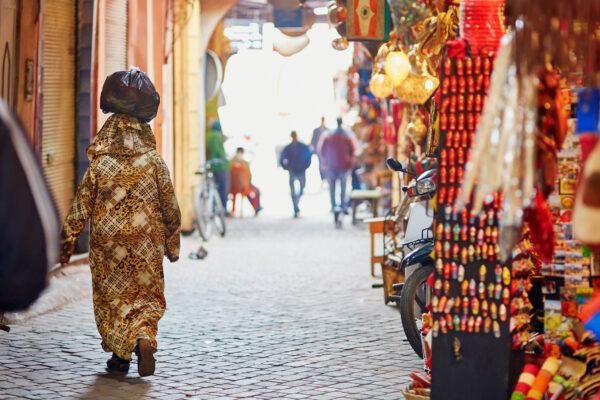 Marokko Fes Gasse