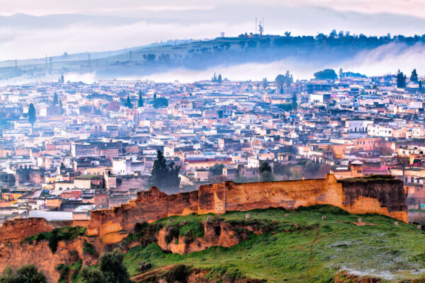 Marokko Fes Stadt