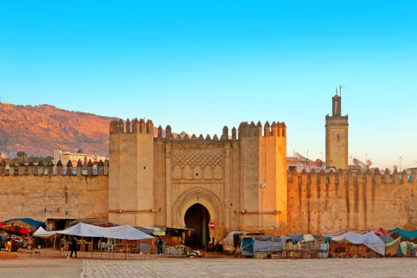 Marokko Fes Tor Medina
