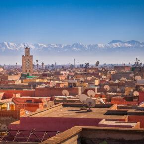 Marokko-Kurztrip: 4 Tage in Marrakesch mit Flügen & Hotel nur 56€