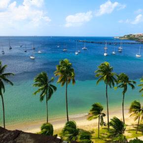 Ab in die Karibik: Flüge nach Guadeloupe & Martinique nur 94€