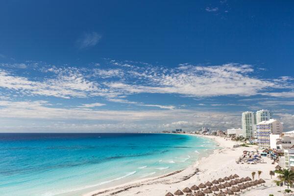 Mexiko Cancun Beach
