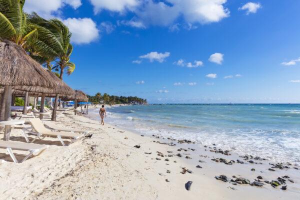 Mexiko Cancun Küste