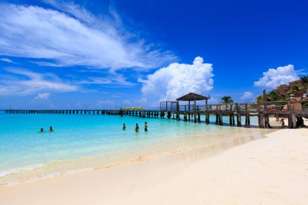 Mexiko Cancun Steg